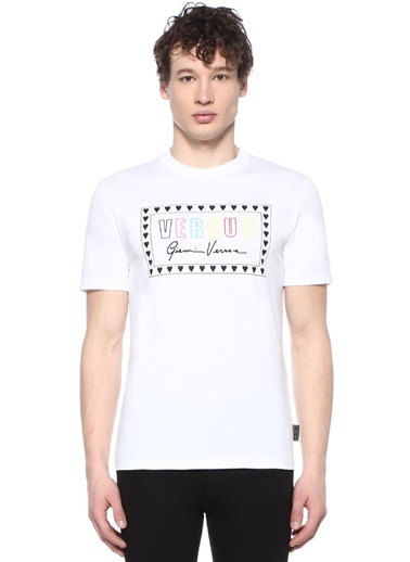 Versus Versace Tişört Beyaz